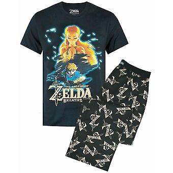 The Legend of Zelda Breath Of The Wild Mens T-shirt en Lounge Pants Pyjama Set