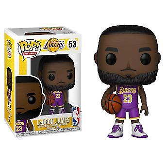 NBA Lakers Lebron James (Purple) US Exclusive Pop! Vinyl