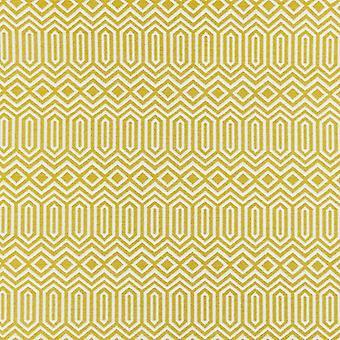 Mcalister Textilien colorado geometrische Senf gelb Stoff