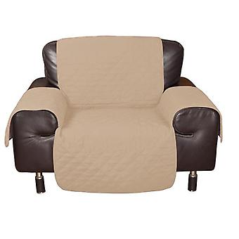 1 Seater Quilted Sofa Protector Throw Furniture Protector Cover