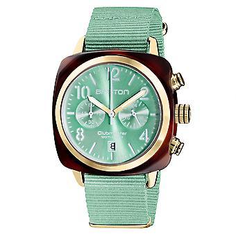 بريستون 19140.PYA. T.29.NGW Clubmaster كلاسيك النعناع الأخضر ساعة اليد
