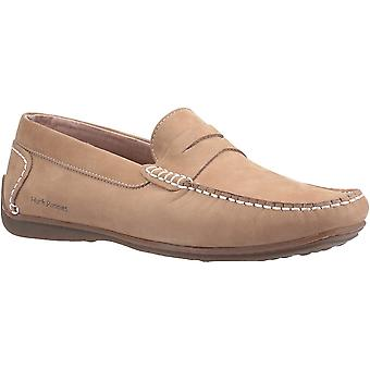هش الجراء Mens روسكو زلة جلدية على أحذية Loafer