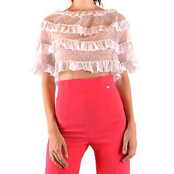 Red Valentino Ezbc026081 Women's White Cotton Top