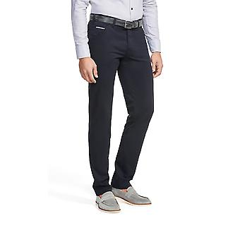 Meyer Chicago Cotton Trouser Navy