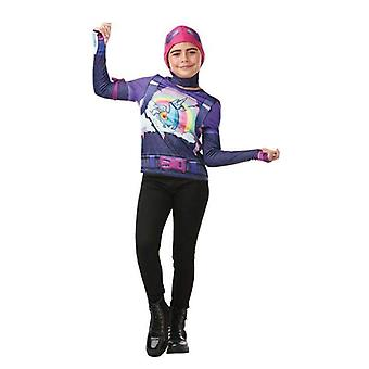 Rubie's Fortnite Brite Bomber Teen Costume Top & Cap
