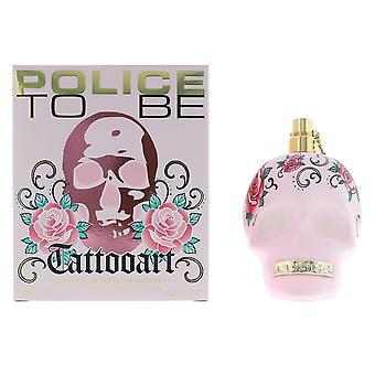 Polizia di essere tatuaggio arte donna Eau de Toilette Spray 125ml