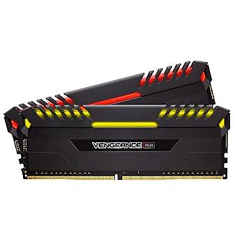 Corsair Vengeance RGB RGB Memory Kit Illuminated RGB LED Enthusiastic 32 GB (2x16 GB), DDR4 3000 MHz, C15 XMP 2.0, Svart