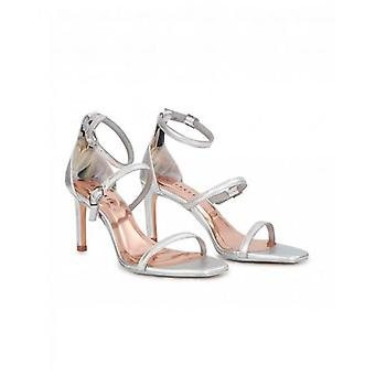 Ted Baker Shoes Metallic Triple Strap Sandals