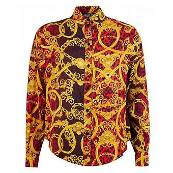Versace Jeans Couture Leo Chain Print Shirt