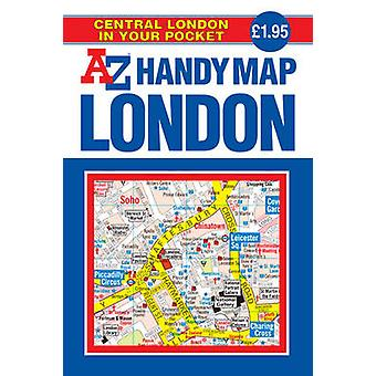 Handy Map of Central London - AZ Handy Map  - Central London in Your Po