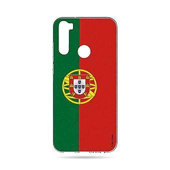 Hull For Xiaomi Redmi Note 8t Soft Portuguese Flag