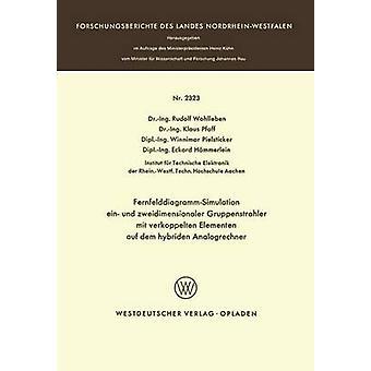 FernfelddiagrammSimulation ein und zweidimensionaler Gruppenstrahler mit verkoppelten Elementen auf dem hybriden Analogrechner by Wohlleben & Rudolf