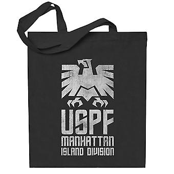 Escape From New York USPF Manhattan Logo Totebag