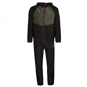 EA7 Men's EA7 Ventus7 Espresso Brown Tracksuit
