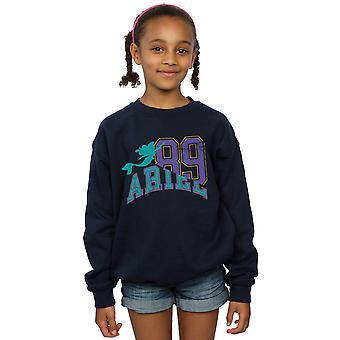 Disney Girls Prinsessa Ariel Collegiate Collegepaita