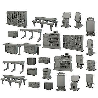 TerrainCrate Starship Scenery Accessories