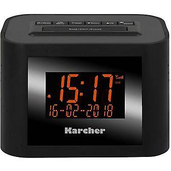 Karcher DAB 2420 Radio ceas cu alarmă FM Negru