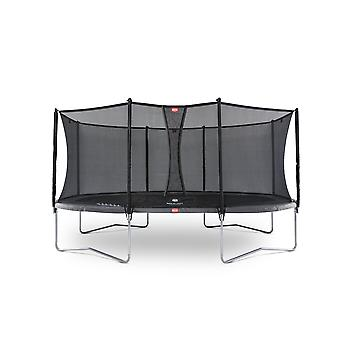 BERG Grand Favorit Regular 520 Trampoline + Safety Net Comfort Grey