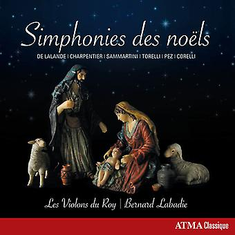 Les Violons Du Roy - Lalande: Simphonies Des Noels [CD] USA import