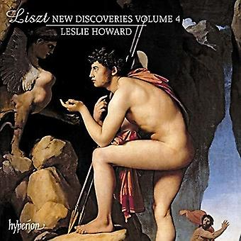 Leslie Howard - Liszt: New Discoveries 4 [CD] Usa import