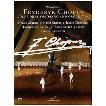 F. Chopin - Works for Piano & Orchestra [DVD] USA import