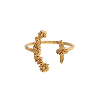 Olivia Burton Watches Obj16bbr02 Bee Blooms Ring Gold