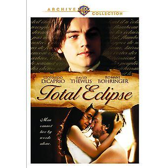 Total Eclipse [DVD] USA tuonti