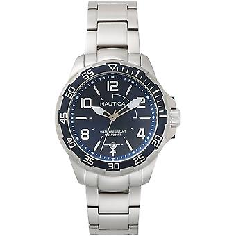 Nautica Watch NAPPLH004 - Plated Stainless Steel Gents Quartz Analogue