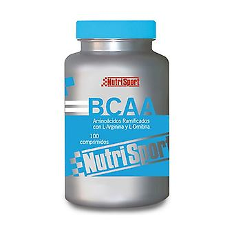 Branched chain amino acids 100 tablets of 1g