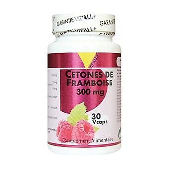 Raspberry Cetones 300mg 30 vegetable capsules