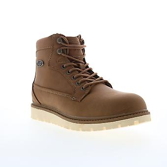 Lugz Bedrock HI Mens Brown Lace Up Casual Dress Boots