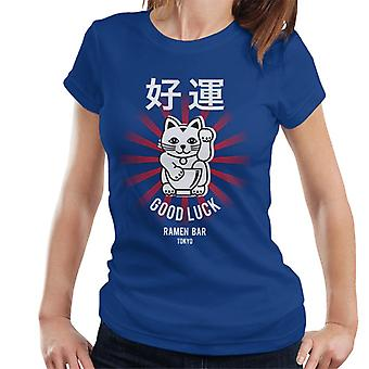 The Ramen Clothing Company Good Luck Noodle Bar Tokyo Women's T-Shirt