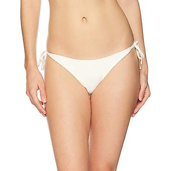 Marque - Mae Women's Maillots de bain Sail Side Tie Bikini Bottom,Cream,X-Small