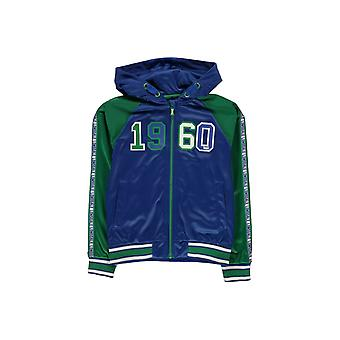 Lonsdale Hooded Track Jacket Junior Boys
