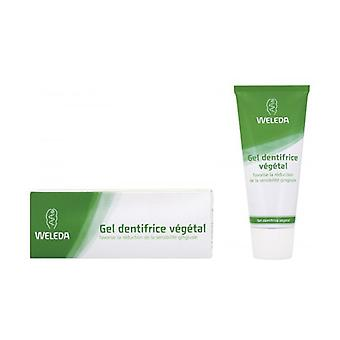 Gel Dentifricio Vegetale 75 ml di gel