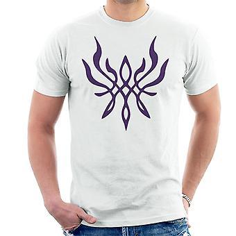 Crest van vlam brand embleem Tapestry mannen ' s T-shirt