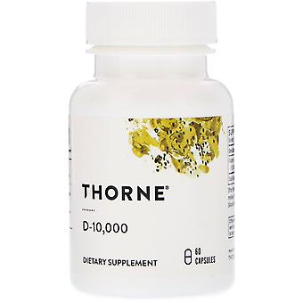 Thorne Research, D-10.000, 60 Capsules
