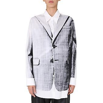 Mm6 Maison Margiela S52dl0137s53114001s Women's White Cotton Shirt