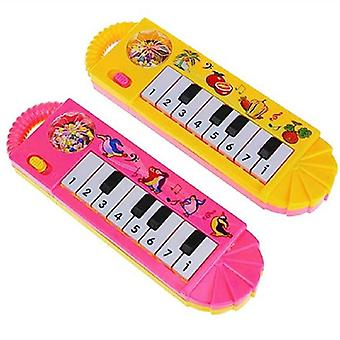 Baby Kids Piano Early Educational Toy Infant Toddler Musical Enlightenment Toy Children Good Gift  (random Color)