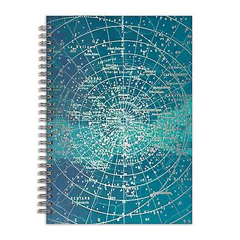 Constellation Grid 7 x 10 WireO Journal by Galison
