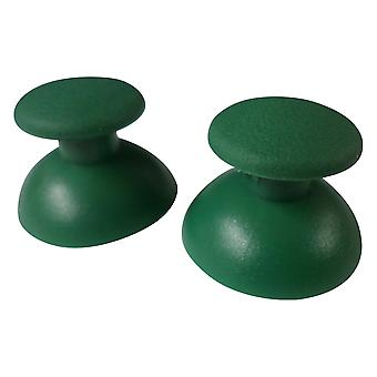 Replacement analog rubber convex thumbsticks for sony ps3 controllers - 2 pack forest green | zedlabz