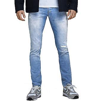 Jack & Jones Mens Glenn Original Slim Fit Tapered Jeans