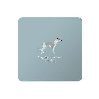 Bailey and Friends Dog Placemat Whippet Blue