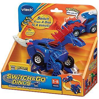Interruptor de VTech e ir Dinos - Abner el Amagasaurus