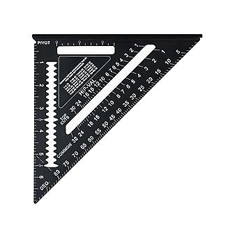Faithfull Prestige Quick Square Black Aluminium 178mm (7in) 744210