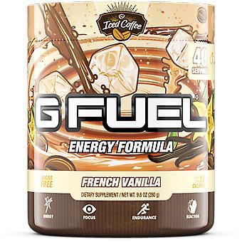 G Fuel French Vanilla Tub (40 Servings) Elite Energy and Endurance Formula