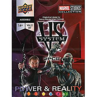 VS System 2PCG: Marvel: Power And Reality