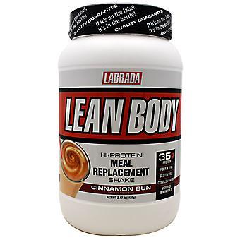 LABRADA NUTRITION Lean Body, Cinnamon Bun 2.47 lbs