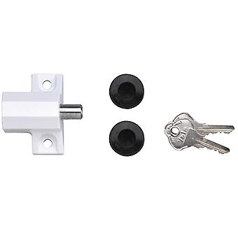 Yale Locks P114 Patio Door Lock White Finish Visi-pack YALP114WE