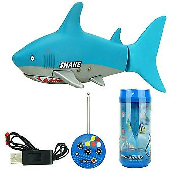 3310b 3ch Rc Shark Durable Fish Boat Submarine- Mini Radio Remote Control